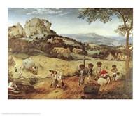 Haymaking Fine-Art Print