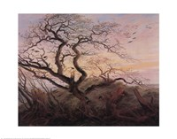 Tree with Crows Fine-Art Print