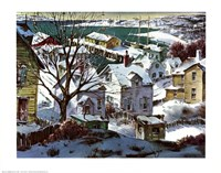 Winter Harbor Fine-Art Print