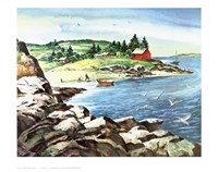 Inland Cove Fine-Art Print