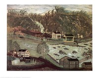 Coryell's Ferry 1776 Fine-Art Print