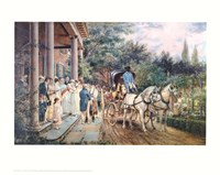 Wedding in the 1830'S Fine-Art Print
