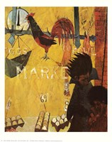 Poultry Market Fine-Art Print