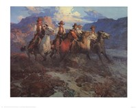 Riders of the Dawn Fine-Art Print