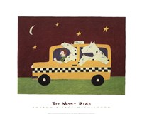 Too Many Dogs Fine-Art Print