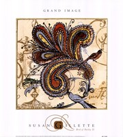 Bird Of Paisley II Fine-Art Print