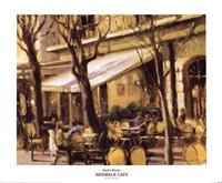 Sidewalk Cafe Fine-Art Print