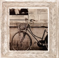 Bicycle In Florence Fine-Art Print
