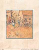 Garden Stroll Fine-Art Print
