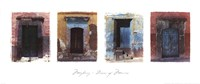 Doors of Mexico Fine-Art Print