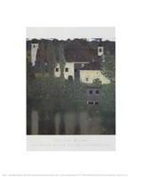 Unterach Manor On The Attersee Lake, Aus Fine-Art Print