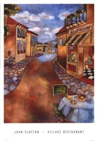 Village Restaurant Fine-Art Print