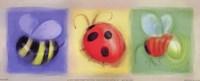 3 Bug Panel Fine-Art Print