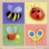 4 Bug Panel Fine-Art Print