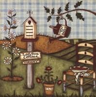 Ladybug Cottage Fine-Art Print