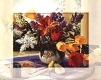 Bordered Floral Fine-Art Print