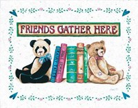Friends Gather Here Fine-Art Print