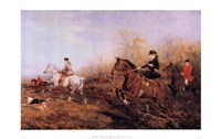 Out For A Scamper (Women On Horses) Fine-Art Print