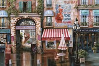 Passage Fontaine Fine-Art Print