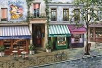 Rue Des Maisons Fine-Art Print