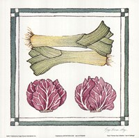 Leak Cabbage Fine-Art Print