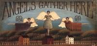 Angels Gather Fine-Art Print
