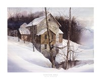 Winter Mill Fine-Art Print