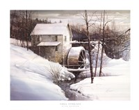 Mill Stream Fine-Art Print