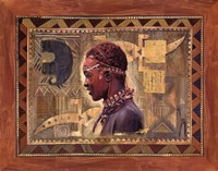 African Warrior II Fine-Art Print