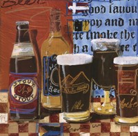 Beer and Ale I Fine-Art Print