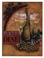 Wine and Dine II Fine-Art Print