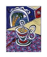 Coffee on the Verandah Fine-Art Print
