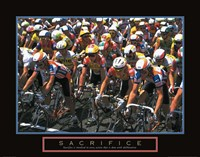 Sacrifice - Starting Line Bicycle Race Fine-Art Print