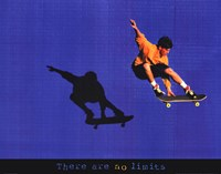 There Are No Limits - Skateboarder Fine-Art Print