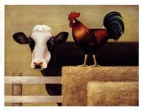 Barnyard Cow Fine-Art Print