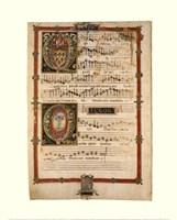 Polyphonic Hymns Magnificats (Tenor) Fine-Art Print