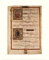 Polyphonic Hymns Magnificats (Bass) Fine-Art Print