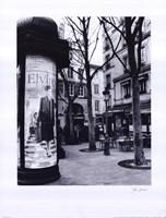 Paris Scene I Fine-Art Print