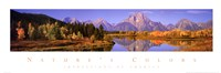 Nature's Colors - Grand Teton Range Fine-Art Print