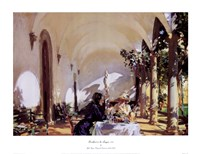 Breakfast In The Loggia Fine-Art Print