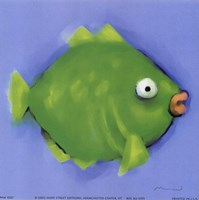 Green Pucker Fish Fine-Art Print
