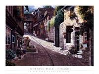 Morning Walk-Dinard Fine-Art Print