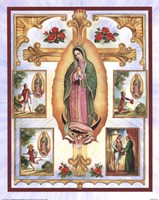 Lady of Guadalupe Montage Fine-Art Print
