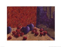 Plums and Cherries I Fine-Art Print