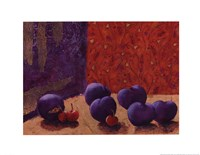 Plums and Cherries II Fine-Art Print
