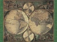Map Nova Orbis Fine-Art Print