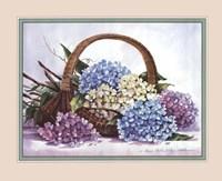 Hydrangea Arrangement Fine-Art Print