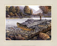 Jumping Trout Fine-Art Print