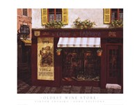 Oldest Wine Store Fine-Art Print