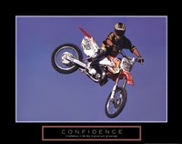 Confidence - Motorbiker Fine-Art Print